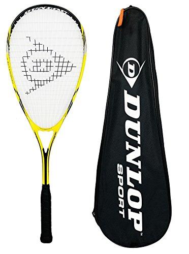 Dunlop - Racchette da squash (Nanomax Biotec Max), Giallo, Full Size