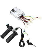 Empuñadura de velocidad eléctrica Aramox, controlador de caja de velocidad cepillada para motor de bicicleta eléctrica de 48V 1000W con accesorio