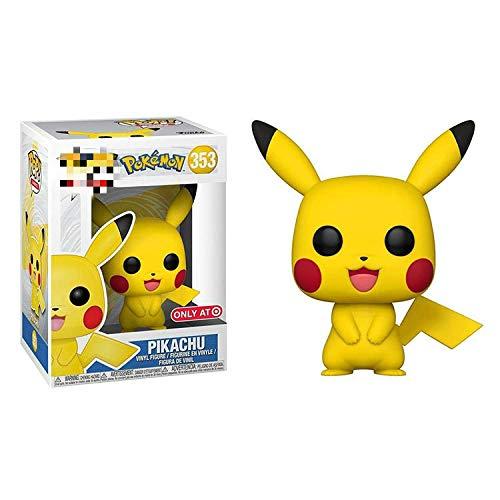ZXZX 1 pièces Funko Pop Pokemon * 11cm353 # Pikachu l'enfant à Collectionner, Multicolore