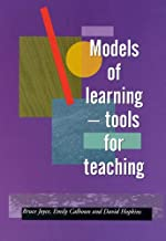 Models of Learning: Tools for Teaching