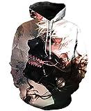 XDJSD Suéteres para Hombres Sudaderas con Capucha para Hombres Camisetas De Manga Larga Sudaderas De Talla Grande Camisetas Deportivas con Estampado De Halloween Uniformes De Béisbol Y Mujeres