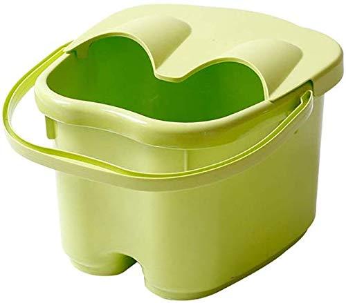 Voetbad barrel dikker kunststof massage voetbad verhoging huishouden voetbad trompet groen