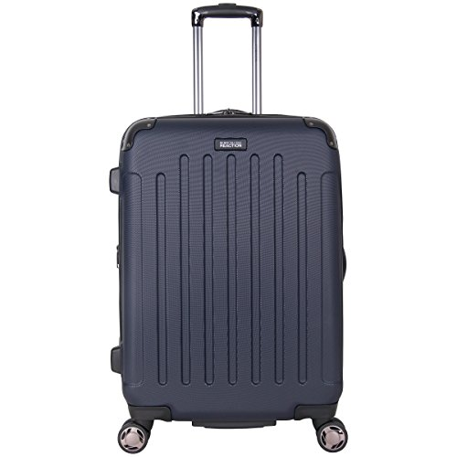 Kenneth Cole Reaction Renegade 24' ABS Expandable 8-Wheel Upright, Navy, inch Checked