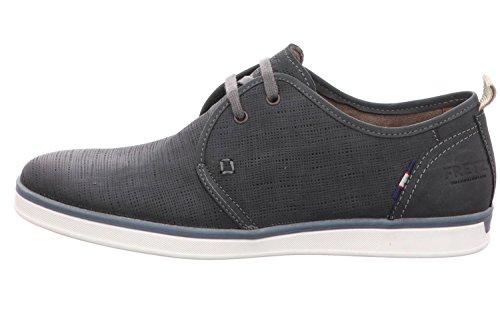 FRETZ men Hull, Zapatos de Cordones Derby Hombre, Azul, 45 EU
