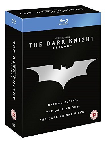The Dark Knight Trilogy - 5-Disc Box Set ( Batman Begins / The Dark Knight / The Dark Knight Rises ) (Blu-Ray)