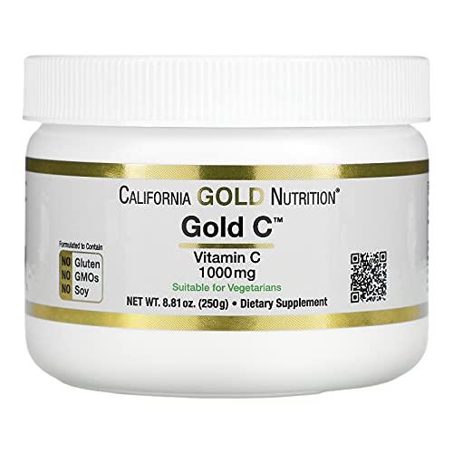 California Gold Nutrition Gold C Powder, Vitamin C, 1,000 mg, 8.81 oz (250 g)