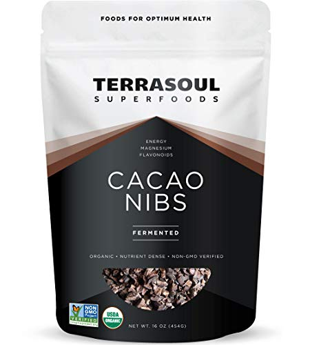 Terrasoul Superfoods Raw Cacao Nibs