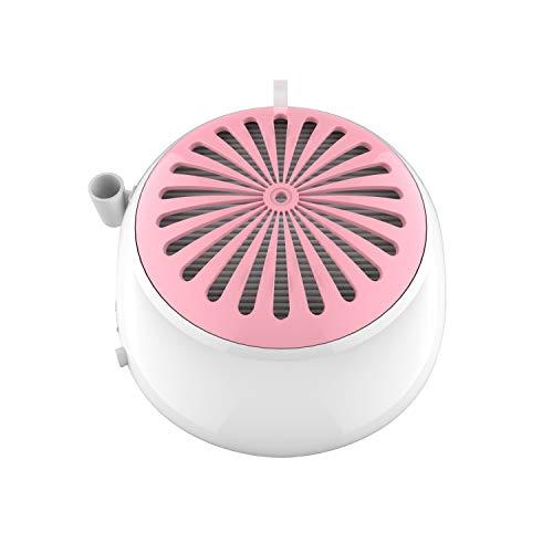 Delanie Aspirador de Polvo para Uñas Colector de Polvo de Uñas Profesional 60W con Luz y Ventilador y con USB Utilizado para Torno para Uñas y Aparatos Eléctricos para Manicura y Pedicura
