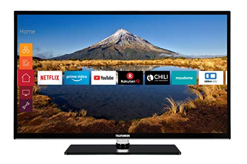 Telefunken HF32J8000 80 cm (32 Zoll) Fernseher (Full HD, Triple Tuner, Smart TV, Prime Video, Works with Alexa)