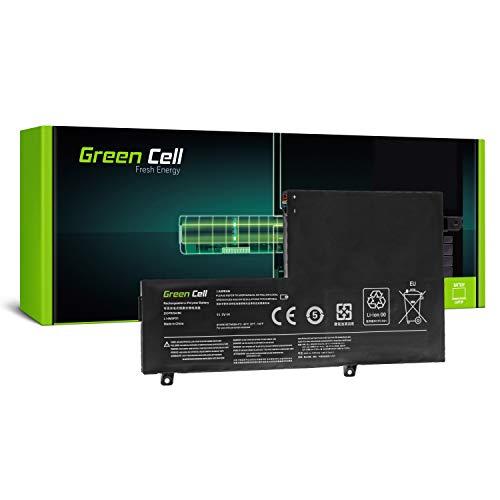 Green Cell Battery for Lenovo 300s-14ISK 80Q4 500s-14ISK 80Q3 Edge 2 1580 80QF Flex 3 1435 20487 80K1 1470 20480 20486 80JK 80JY 1480 80R3 1570 20482 Laptop (3500mAh 11.1V Black)