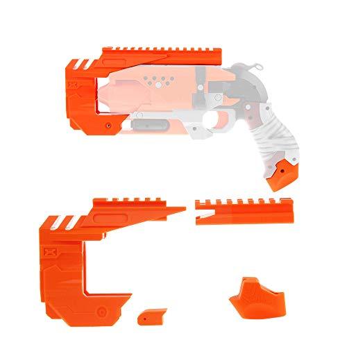 WORKER Set de Accesorios para Nerf Zombie Strike Hammershot Blaster Attachment