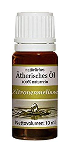 Neuston Zitronenmelisse - 100{58b10c488330b026dc6150fe610c3733ce0d07120bae4b60f578060cefedb874} naturreines ätherisches Öl, 10 ml