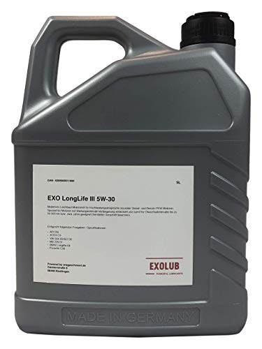 5 Liter EXO Longlife III 3 SAE 5W-30 Motoröl vollsynthetisch