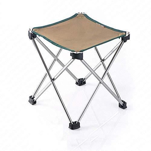 WEI-LUONG Silla de Conferencia Plegable de Sillas al Aire Libre Plegable de la Pesca Portable Mesa de Camping Mesa y sillas for el Engranaje de Picnic Ultraligero