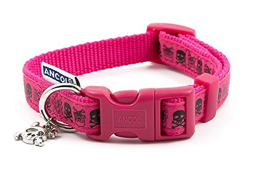 Ancol Skull Fashion Hundehalsband, 20–30cm