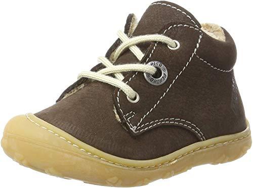 RICOSTA Unisex Baby Corany Sneaker, Braun (Marone), 00019 EU