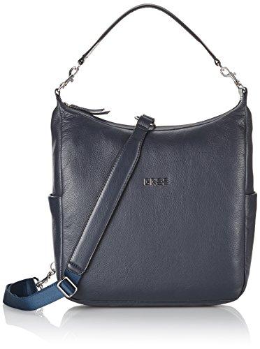 BREE Nola 6, blue, Damen Henkeltasche 206250006 32x10x23 cm (B x H x T), Blau (blue 250)