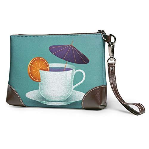 MGBWAPS Cup Cookies Clutch, Leder Clutch Geldbörse, Kosmetiktasche, Clutch Handtasche, (siehe abbildung), Einheitsgröße