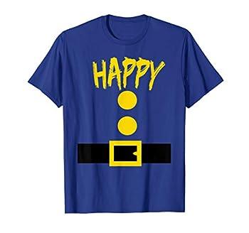 Dwarf Costume T-Shirt - Funny Halloween Gift Idea - Happy T-Shirt
