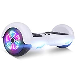Safety Guarantee: UL 2272 certified The boards have passed all crucial tests that under UL 2272 to ensure every part is completely safe won't go on fire and protect you and your family The Self balancing hoverboards makes it easier and safer for begi...