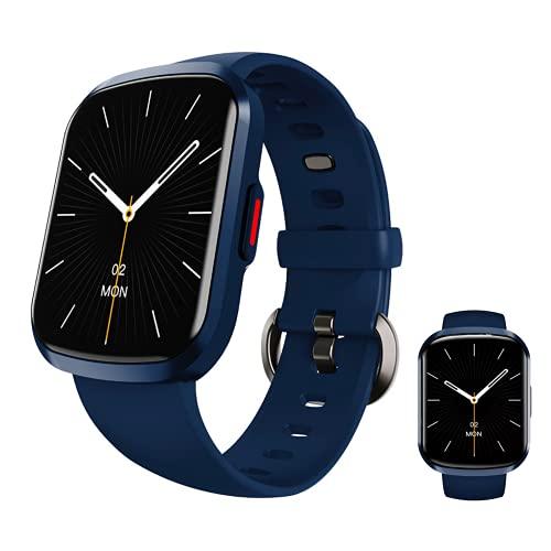 Smartwatch,Reloj Inteligente Mujer Hombre Niños 13 Modos Deportivos, Fitness Tracker Ultrafinos con Monitor de Sueño Pulsómetros, Pulsera Actividad Impermeable IP68 para Android iOS (Azul Pacífico)
