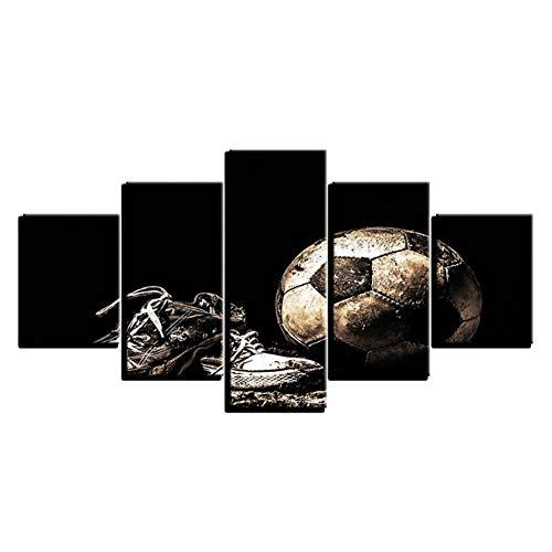 xiongda Wandkunst Poster Leinwand Moderne Sport Fußballschuhe Wohnzimmer Dekorative Kunstwerke Bild Malerei / 40X60 40X80 40X100Cm-No Frame