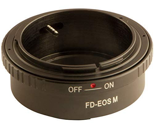 Anillo Adaptador FD-EOS M para Objetivo Canon EOS FD a cámara EOS M Canon EOS M200 M100 M6 Mark II M6 M5 M10 M3 EOS M EOS M50 EOS Kiss M