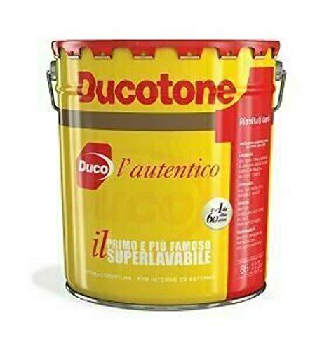 DUCOTONE CLASSICO DUCO PITTURA MURALE SUPERLAVABILE INTERNO/ESTERNO litri 5