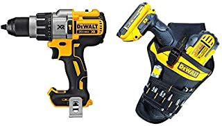 DEWALT DCD996B Bare Tool 20V MAX XR Lithium Ion Brushless 3-Speed Hammer Drill (Tool Only) with DG5120 Heavy-duty Drill Holster