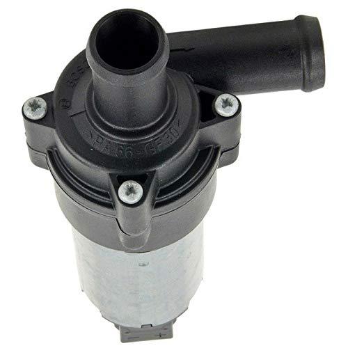 Whyzj Motor Electric Hilfssekundärpumpe Motor Hilfspumpe 0392020024 Kühlzusatzwasserpumpe (Color : Silver Black)