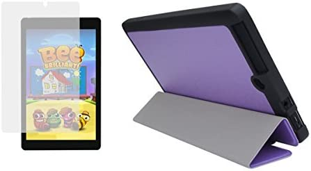 Viola Purple Slim Folding Folio Cover Case Screen and Prot Mail order Sales Clear