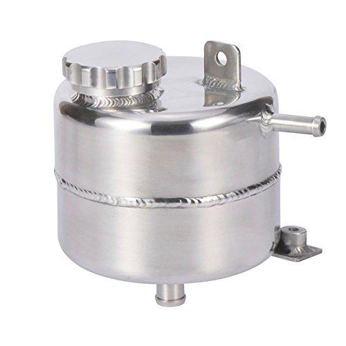 Tanque de expansión de refrigerante para radiador Mini Cooper 2002-2008 R52 R53 S Convertible (plata)