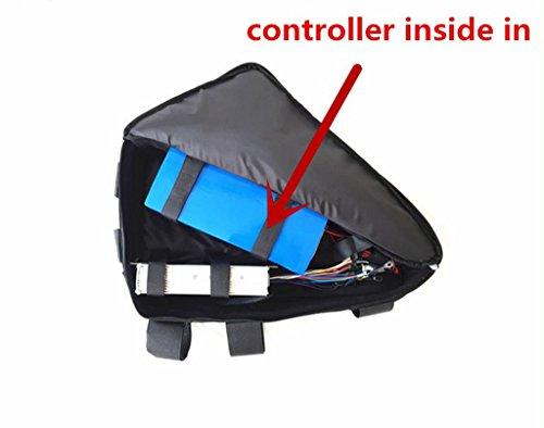 NBpower Electric Bike Triangle Battery Bag, Bicycle Bike Bag, Top Tube Triangle Bag Used for E-Bike Lithium Battery/Conversion Kit.