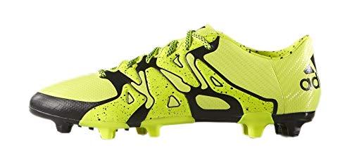 adidas Herren X15.3 FG/AG Fußballschuhe, Gelb (Solar Yellow/Solar Yellow/Core Black), 40 2/3 EU