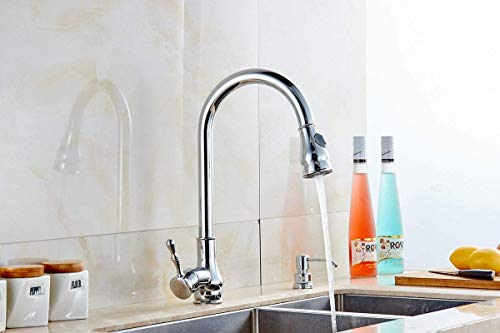 Küchenarmaturen moderne Waschtischarmatur Küchenarmatur Mischbatterie mit UK-Standard-Ausstattung Küchenarmaturen Hardware Küchenarmatur Chrom Vase Waschtischmischer Geeignet für alle Küchen