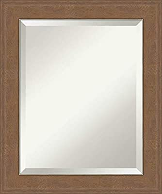 Amanti Art Framed Vanity Mirror | Bathroom Mirrors for Wall | Mirror | Wall Mounted Mirror | Mirror | x in. from Amanti Art