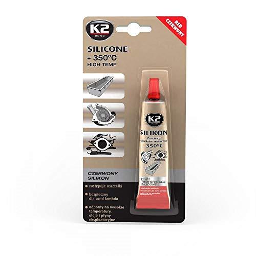 K2 Rojo de Alta Temperatura de Silicona
