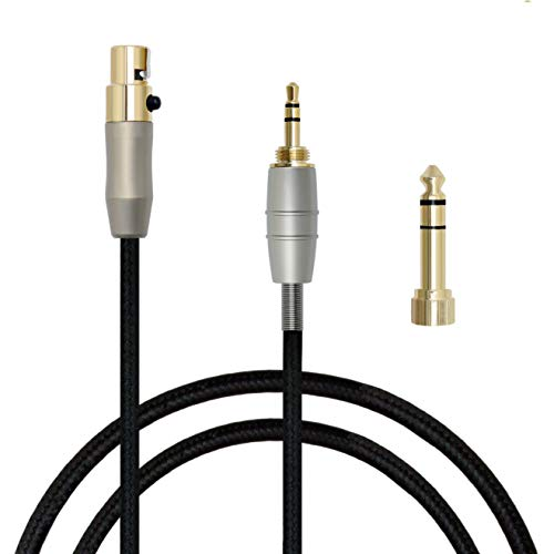 MiCity Ersatz-Audio-Verlängerungskabel für AKG Q701 / K702 / K271S / K271 / K141 / K171 / K181, MKII K240S / K240 / MK2, Pioneer HDJ-2000-Kopfhörer 1,2 m