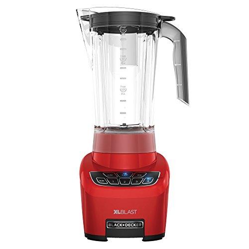 BLACK+DECKER XL Blast Drink Machine, Red, BL4000R