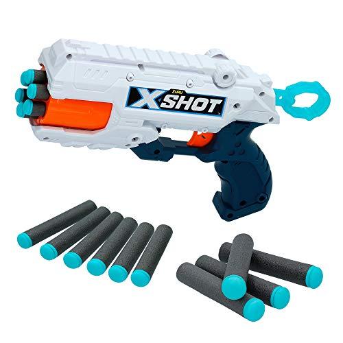 X-Shot - pistola dardos goma espuma reflex excel juguetes ni