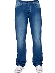 "Brand: ENZO Fit: Straight Casual Branded Jeans With 5 Pockets Leg Length: Short 30"", Regular 32"", Long 34"""