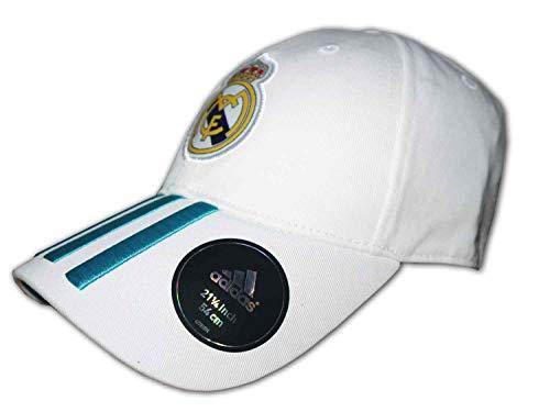 adidas Real 3S Gorra de Tenis, Hombre, Blanco (Blanco/azuint), OSFM