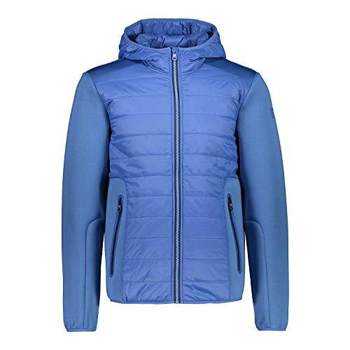 CMP Veste Fonctionnelle Veste Homme Fix Hood Blau Respirant Stretch - Bleu, 50