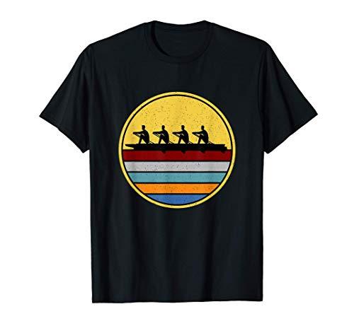 Rudern Ruderer Ruderboot Wassersport Kanu Rudern Zubehör T-Shirt