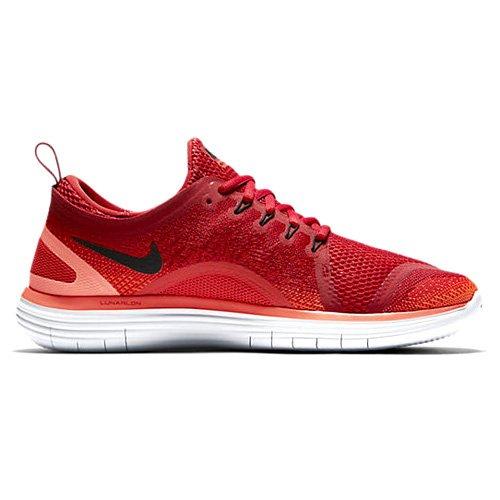 Nike Men's Free RN Distance 2 Gym Red/Black - Max Orange 863775-600 (8.5)