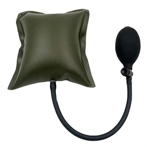 MachinYeseed Aufblasbare Luftpumpe für Fenstereinbau Position Air Cushion (Farbe: dunkelgrün)