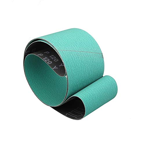 Schleifband 1 Stück/Schleifbänder/1220 * 50/75/1220 / 150mm 577F Sandpapier/Schleifpapier /, Gebraucht für Messermahlen für Bandschleifer (Grit : P80, Size : 1220 X 100 mm)