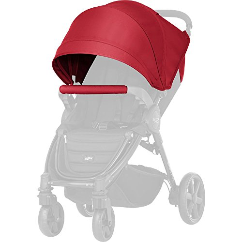 Britax-Romer 2000023137 Canopy pack – B-AGILE / B-MOTION - Une Capote et Une Housse pour main, Rouge (Flame Red)