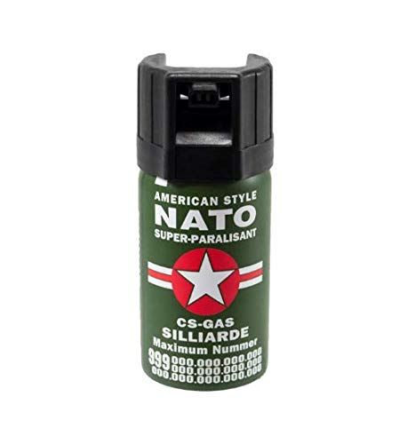 Beste Angebote Pfefferspray, Pepperspray, Tierabwehrspray, NATO, 40ml, Maximum Konzentrat (1)