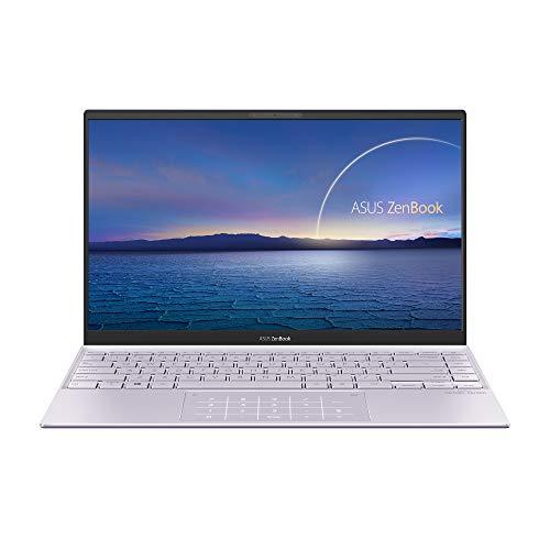 ASUS ZenBook 14 UX425EA-BM019 - Portátil  Full HD (Core i5-1135G7, 16GB RAM, 512GB SSD, Iris Xe Graphics, Sin Sistema Operativo) Lila Neblina - Teclado QWERTY español